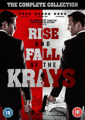 The Rise and Fall of the Krays DVD (2016) Kevin Leslie ***NEW***