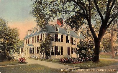 C09-7534, Dorothy Quincy House, Quincy, Mass. 1910S Postcard,