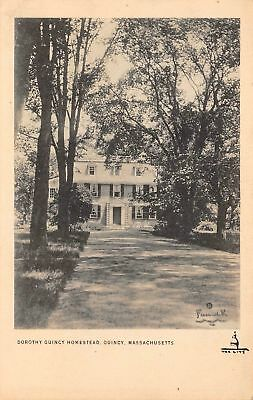 C09-7535, Dorothy Quincy House, Quincy, Mass. 1910S Postcard,