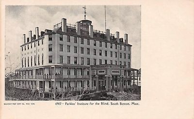 C09-7553, Perkins' Institute For The Blind, South Boston, Mass. 1900S Postcard,