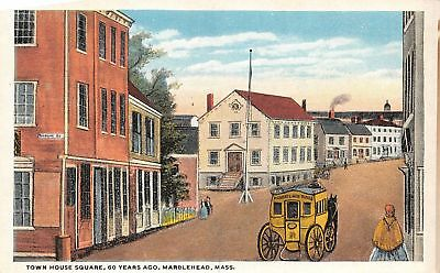 C09-7557, Town House Square, Marblehead, Mass.