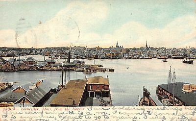 C09-7650, From The Harbor, Gloucester, Mass. 1907 Postmarked.
