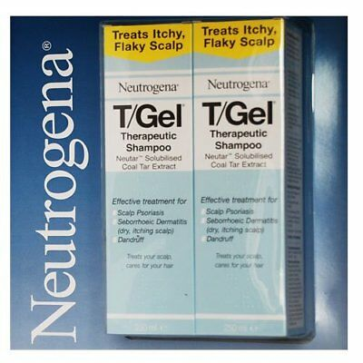 T/gel Therapeutic Shampoo, 250 Ml, Pack Of 2