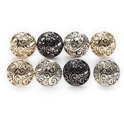 5pcs Round Hollow Metal Buttons for Sewing Clothing Crafts Gifts Card 12.5-25mm