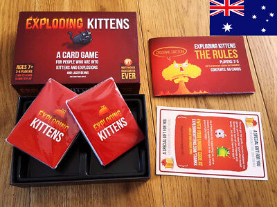 Exploding Kittens Party Card Game About Kittens and Explosions Sometimes Goats