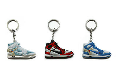 Nike Air Jordan 1 Off-White Collectible Sneaker Backpack Buddy Keychain Keyring