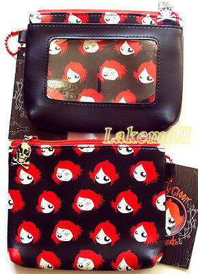 New Ruby Gloom Purse Coin Bag Wallet With Photo Slot