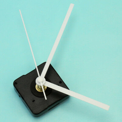 New Quartz Clock Movement Mechanism Repair Tool with Pointer Hands White