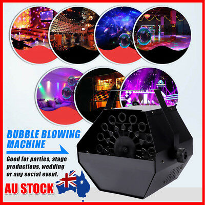 25W Automatic Electric Bubble Machine with 1 L Professional Fluid Maker Blower