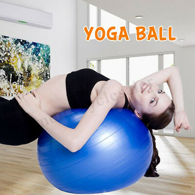 UK Exercise Gym Yoga Swiss Ball Fitness Pregnancy Birthing Anti Burst Core Balls