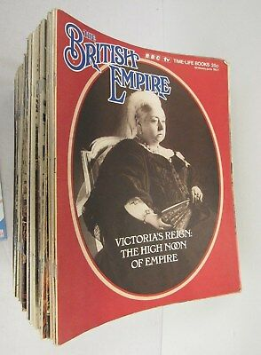 The British Empire BBC Time-Life Books 98 Issues w/ Atlas + Charts - FIS S9