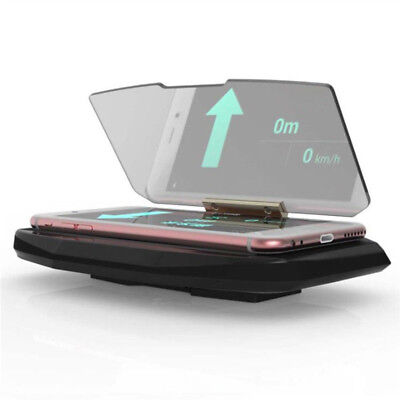 HUD Head Up Display GPS / Mobile Phone / Navigation Projector Bracket Holder