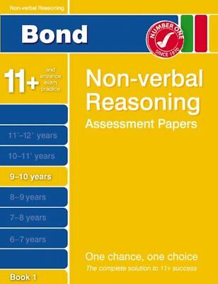 Bond Third Papers in Non-verbal Reasoning 9-10 years (Bond Assessment Papers),A