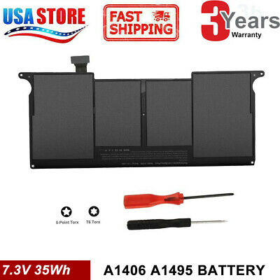 Battery A1406 A1495 for Apple MacBook Air 11 inch A1465 A1370 mid-2011 only