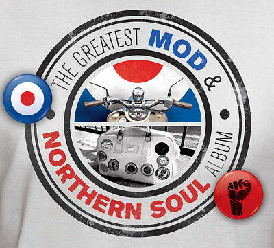 Various Artists : The Greatest Mod & Northern Soul Album CD (2018) ***NEW***