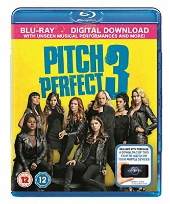 Pitch Perfect 3 (Blu-Ray + digital download) [2018] [Region Free] -  CD ZHVG The
