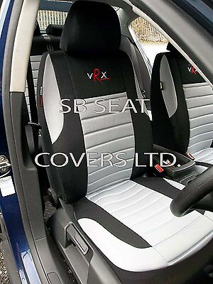 i - TO FIT A MITSUBISHI OUTLANDER PHEV CAR, SEAT COVERS, GREY VRX FULL SET