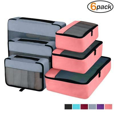 Packing Cubes Organizer Bags Travel Accessories Packing Cube Compression 6 Set