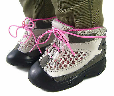 Doll Clothes fits American Girl Boy Hiking Boots Shoes Logan Camping