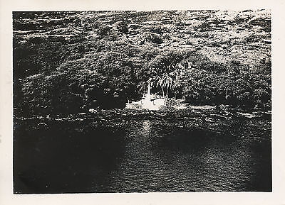 1940 Captain Cooks monument on Big Island, aerial view Hawaii  Photo
