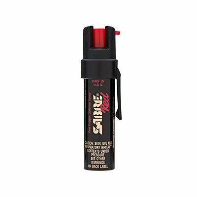 SABRE Pepper Spray - Police Strength - Compact Size with Clip (Max Protection
