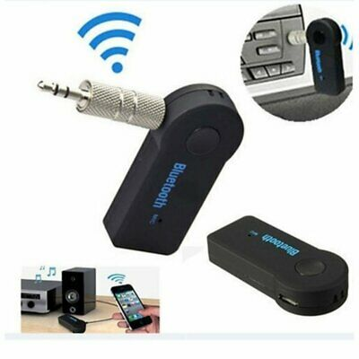 3.5mm USB Mini Bluetooth Wireless Aux Stereo Audio Music Car Adapter Receiver UK