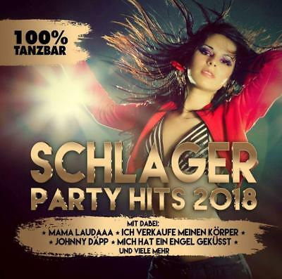 Schlager Party Hits 2018   Cd Neu