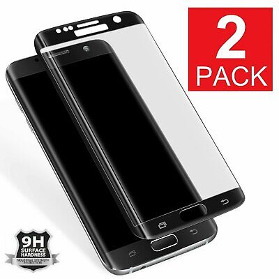 2X Premium Full Cover Tempered Glass Screen Protector for Samsung Galaxy S7
