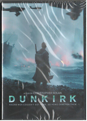 DUNKIRK  (DVD, 2017, 2-Disc Set, Special Edition) NEW