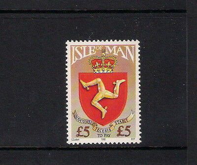 Isle Of Man 1992 £5 High Value Postage Due Mnh