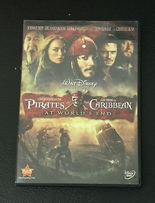 Pirates of the Caribbean: At World's End DVD  Johnny Depp, Orlando Bloom,