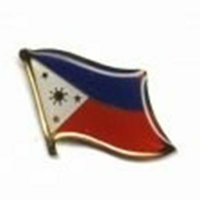 Philippines Country Flag Small Lapel Pin Badge ... New