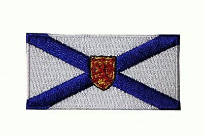 Nova Scotia Ns Provincial Flag Small Iron On Patch Crest Badge ... Canadian Prov