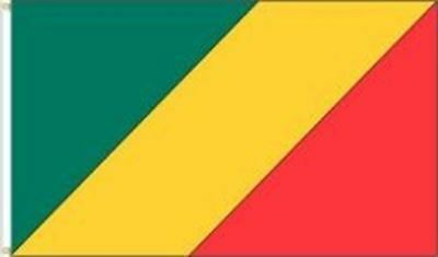 Republic Of Congo 3 X 5 Feet Large Country Flag Banner ... (92 Cm X 152 Cm) .. N
