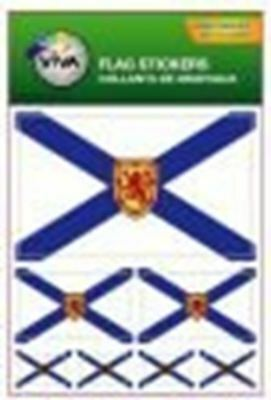 Nova Scotia Ns Provincial Flag Collection Of 7 Different Size Decal Stickers ...