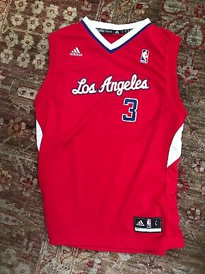 d362550b3 Adidas Los Angeles Clippers CHRIS PAUL Basketball Jersey CP3 Youth Size L