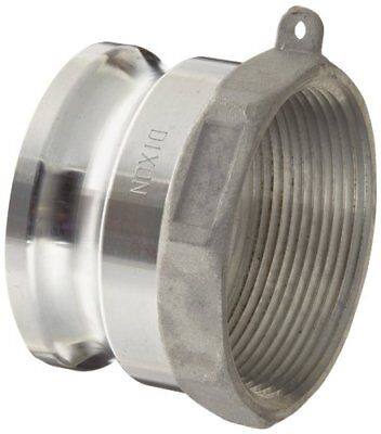 """Dixon G200-A-AL Aluminum A380 Global Type A Cam and Groove Hose Fitting, 2"""" P..."""