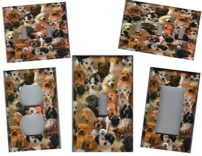 Dogs Dogs Dogs Home Wall Decor Light Switch Plates And Outlets
