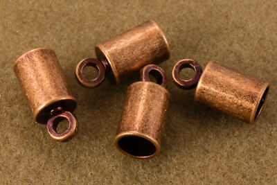 2mm Antique Copper Cord End Cap #MFD115