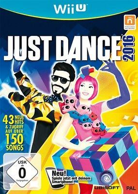 Nintendo Wii U game - Just Dance 2016 NEW & BOXED