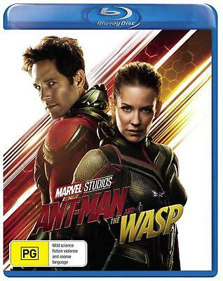 ANT-MAN (2018 - 2) AND THE WASP: MARVEL, Action - NEW  Au  RgB  2D  BLU-RAY