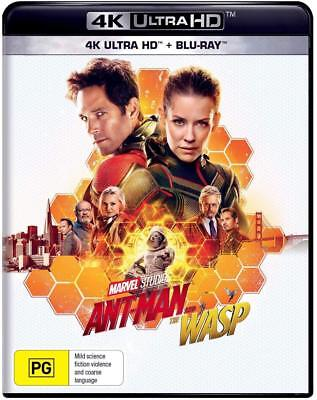 ANT-MAN (2018 - 2) AND THE WASP: MARVEL, Action - NEW Au RgB 4K UHD + 2D BLU-RAY