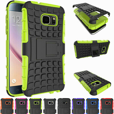 Hybrid Rugged Stand Phone Case Cover For Samsung Galaxy Note 7 5 4 3 S7 S6 J7 J5