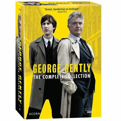 George Gently: The Complete Collection Series 1-8 (DVD, 2017,25-Disc Box Set)New