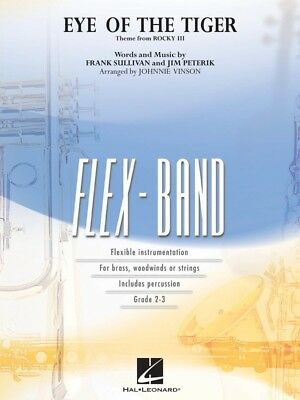 Eye Of The Tiger Flex Band 2-3Score/Parts