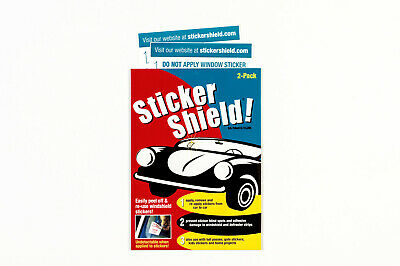 Sticker Shield - Windshield Sticker Applicator For Application, Removal & Re-app