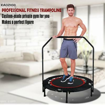 "40"" Trampolin mit Haltestange Jumper Sport verstellbaren Fitness Training"