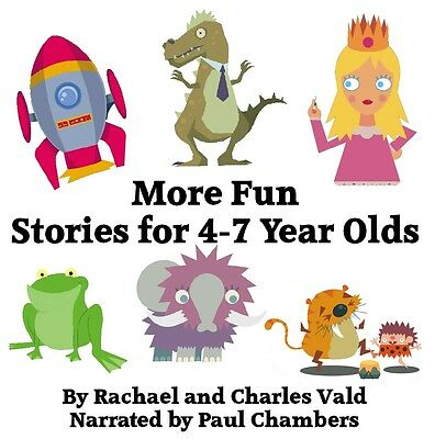 More Fun Stories for Kids - Children's Audiobook CD (Ages 4-7) - Listen to Demo