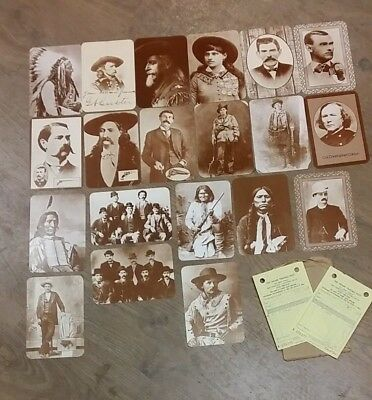 20 Old West Collectors Series Post Cards  ** £3.25 Uk Post **