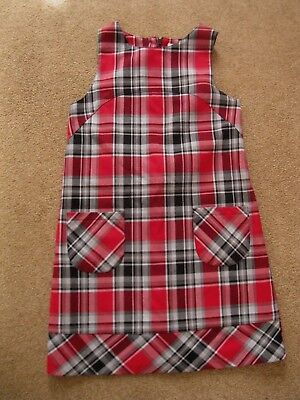 b37b10afd43 CUTE GIRLS CHEROKEE black red plaid jumper dress